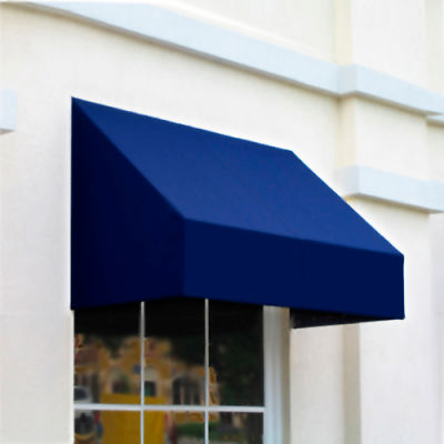 "Awntech RN22-5N, Window/Entry Awning 5' 4-1/2"" W x 2'D x 2' 7""H Navy"
