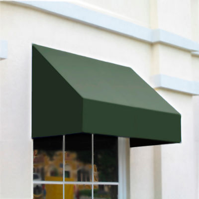 "Awntech CN34-8S, Window/Entry Awning 8' 4 -1/2""W x 4'D x 3' 8""H Sage"