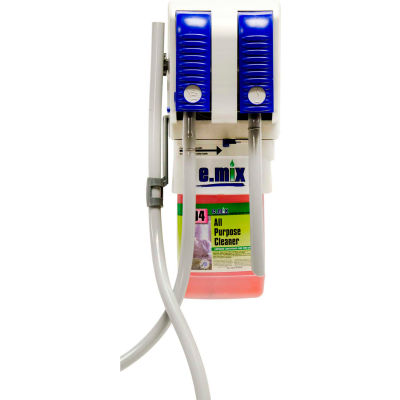 e.mix Wall Mounted Dispenser for e.mix Dilution Control Chemical Management System
