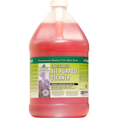 Green Seal Certified Concentrated All Purpose Cleaner, Gallon Bottle, 2 Bottles