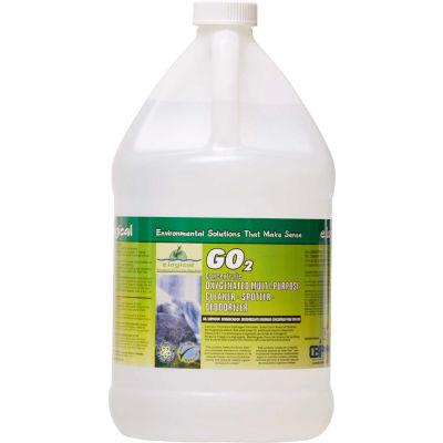 Green Seal Oxygenated Floor Cleaner, Gallon Bottle, 2 Bottles