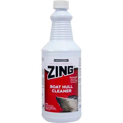 ZING® - Original Boat Hull Cleaner, Quart Bottle 12/Case - N074-Q12