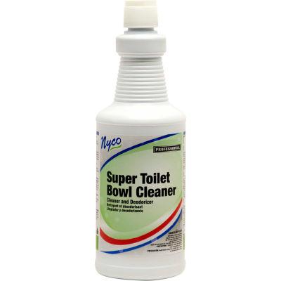 Nyco HCL Super Toilet Bowl Cleaner, Acidic Scent, 32 oz. Bottle 12/Case - NL065-Q12