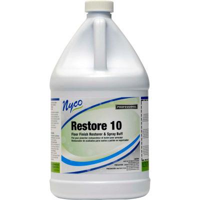 Floor Restorer/Spray Buff, Gallon Bottle, 4 Bottles