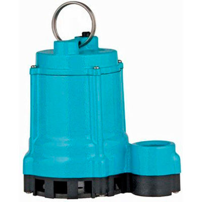 Little Giant 10EC-CIA-SFS 1/2 HP Automatic Submersible Cast Iron with Plastic Base Sump Pump