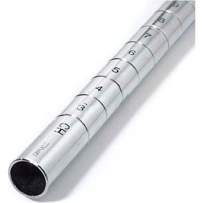 "Nexel® P80S Stainless Steel Post 80""H - 4 Pack"