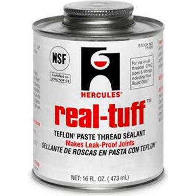 Hercules 15620 Real Tuff Thread Sealant- Screw Cap With Brush 1/2 Pt. - Pkg Qty 24