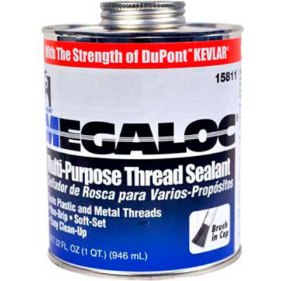 Hercules 15802 Megaloc Thread Sealant - Display Pack, Plastic Tube 1.1 fl oz. - Pkg Qty 24