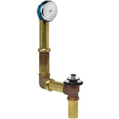 Dearborn Brass 227D-3 Brass Uni-Lift For Direct Drain Full Kit 17 Ga. Uni-Lift Stopper Chrome Finish