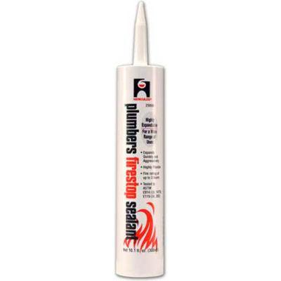 Hercules 25696 Plumbers Firestop Sealant - Cartridge 10 oz. - Pkg Qty 12