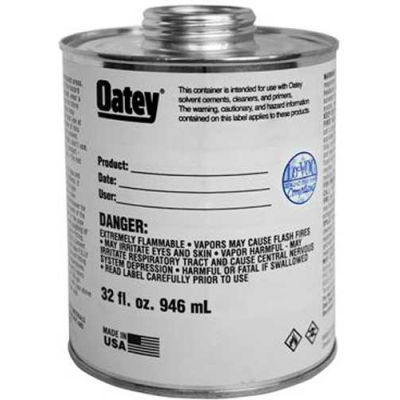 Oatey 1 Gallon Wide Mouth Can - Pkg Qty 6