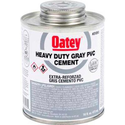 Oatey 31093 PVC Heavy Duty Gray Cement 4 oz. - Pkg Qty 24