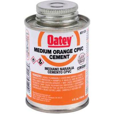 Oatey 31128 CPVC Medium Orange Cement 4 oz. - Pkg Qty 24