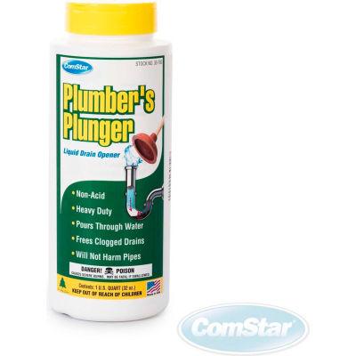 Plumbers Plunger™ Plumbers Plunger™ Liquid Drain Opener, Quart Bottle, 12 Bt - 30-700 - Pkg Qty 12