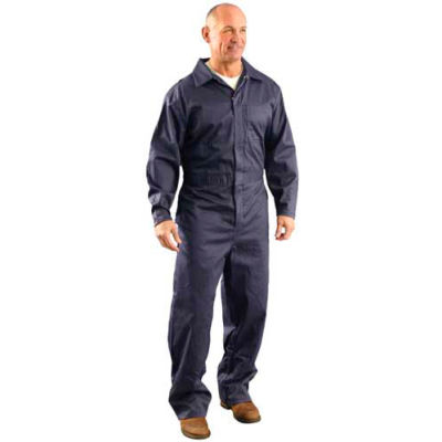 OccuNomix Value Flame Resistant Coverall Navy, 3XL, G906NB-3X