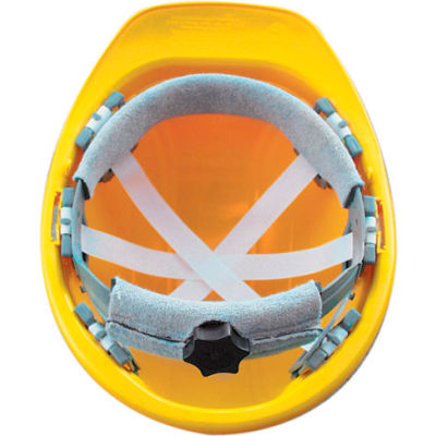 OccuNomix Vulcan Basic Hard Hat with Ratchet Suspension White, V200-00