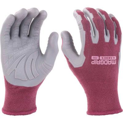 Mad Grip Utility Garden Pro Glove, Plum/Gray, L, LPPUPURRL