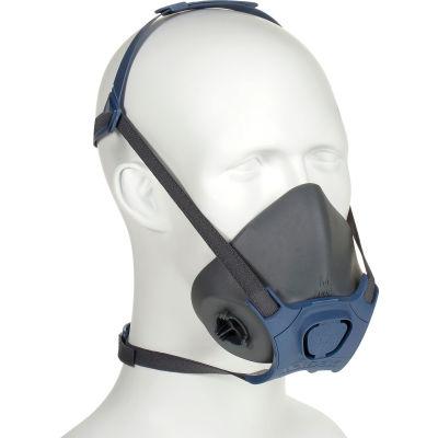 Moldex 7002 7000 Series Half Mask Respirator + 7940 P100 Filter Disk, Medium