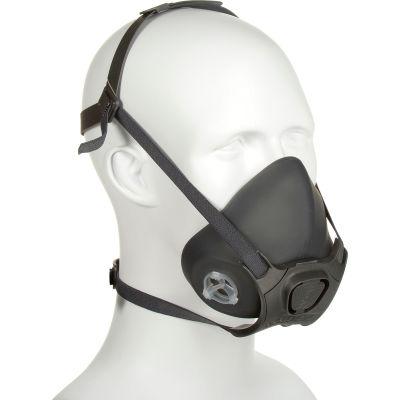 Moldex 7802 7800 Series Premium Silicone Half Mask Respirator + 7940 P100 Filter Disk, Medium