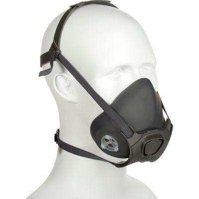 Moldex 7803 7800 Series Premium Silicone Half Mask Respirator + 7940 P100 Filter Disk, Large