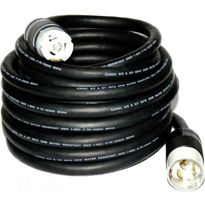 CEP 6450M, 50' 6/3-8/1 SOW Power Cord