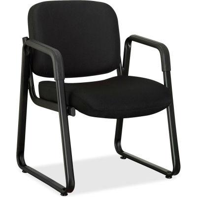 Lorell® Black Fabric Guest Chair - Black
