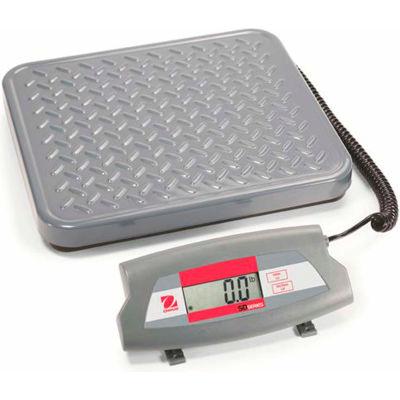 "Ohaus® SD35 AM Bench/Shipping Digital Scale, 77 lb Capacity, 12-7/16"" x 11"" Platform"