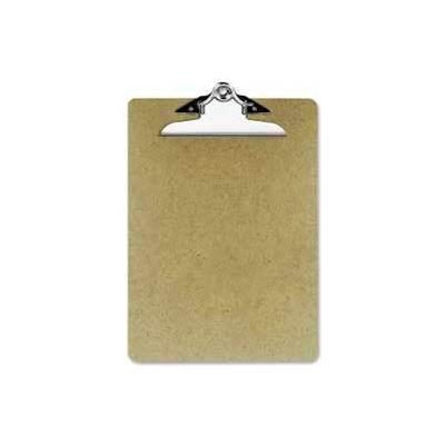 "Officemate® Hardboard Clipboard, 9"" x 12-1/2"", Brown"