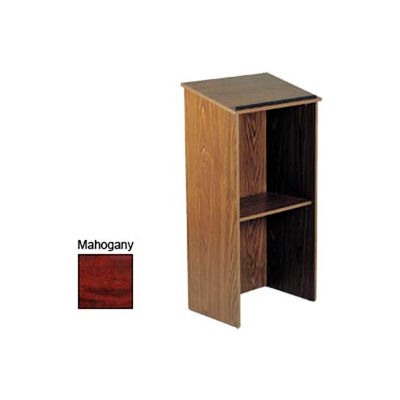 Full Floor Lectern / Podium - Mahogany