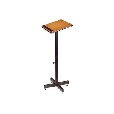 Portable Presentation Podium / Lectern - Medium Oak