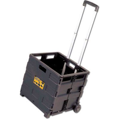 Olympia Tools Grand Pack-N-Roll® Rolling Folding Crate Cart 85-010 - 80 Lb. Capacity