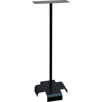 "Omnimed® Infection Control Floor Stand, 13""W x 12-1/8""D x 38-5/8""H, Black"