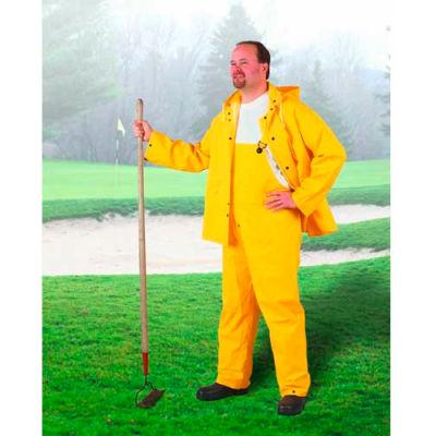 Onguard Sitex Yellow 2 Piece Suit W/Elastic Waist Pants, PVC, 3XL