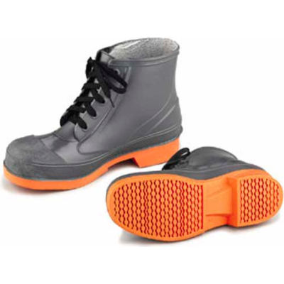 "Onguard Men's Boot, 6"" Sureflex Brown/Cream Steel Toe, PVC, Size 8"