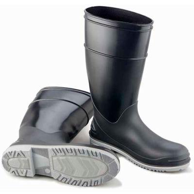 "Onguard Men's Boot, 16"" Goliath Black Plain Toe W/Power Lug Outsole,  PVC, Size 7"