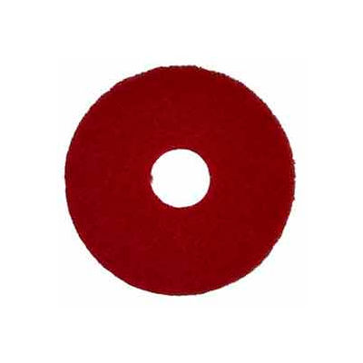 """Bissell Commercial 17"""" Polish Pad Red, 5 Pads - 82007"""