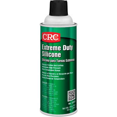 CRC Extreme Duty Silicone Lubricants - 16 oz Aerosol Can - 03030 - Pkg Qty 12
