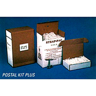 """Self-Dispensing Polypropylene Strapping Kit 1/2"""" x 3,000' Coil With Tensioner & Buckles"""
