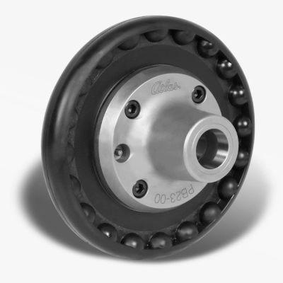 "5C Front Hand Wheel Quickie Collet Chuck - D1-6 Mount - 9"" Dia. - Pratt Burnerd PB23-D6"