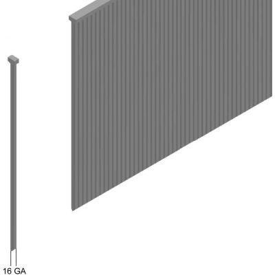"16 Gauge Straight Finish Nail - 1-1/2"" Length - Galvanized Steel - Pkg of 10000"