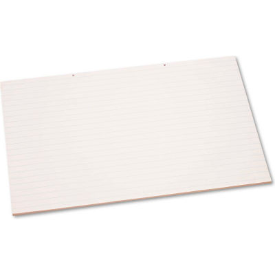 """Pacon® Primary Chart Pad w/1in Rule 3051, 24"""" x 36"""", White, 1 Each"""