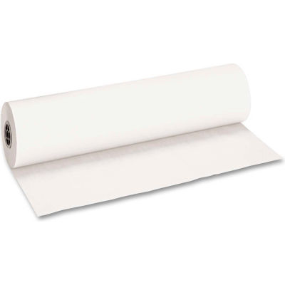 "Pacon® Decorol Flame Retardant Art Rolls, 40 lb, 36"" x 1000 ft, Frost White"