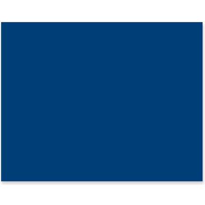"Pacon® 4-Ply Poster Board, 28""W x 22""H, Dark Blue, 25/Carton"