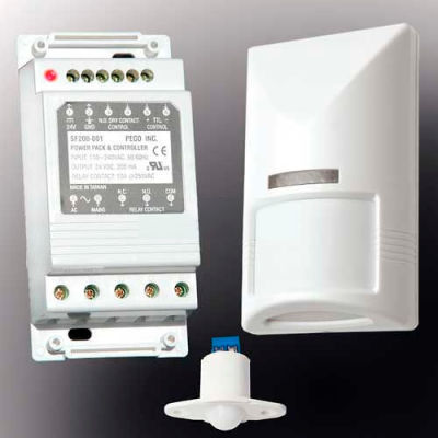 PECO S200 Series Motion Based Standalone Occupancy Sensor System Kit SK200-001