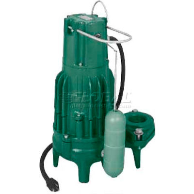 Zoeller Waste-Mate M292 Automatic High Head Submersible Sewage Pump 292-0001, 1/2 HP