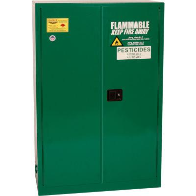 Eagle Pesticide Safety Cabinet with Self Close - 45 Gallon
