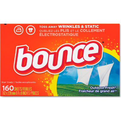 Bounce Fabric Softener Sheets Sheets, 160 Sheets/Box, 6 Boxes - 80168