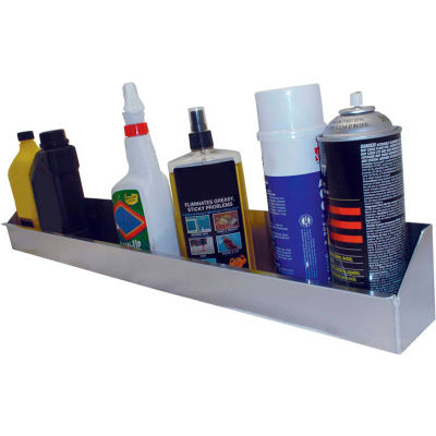 "Tow-Rax SP12AT Aerosol Utility Tray For Up To 12 Cans, Aluminum 4""H x 4""W x 33-1/2""D"