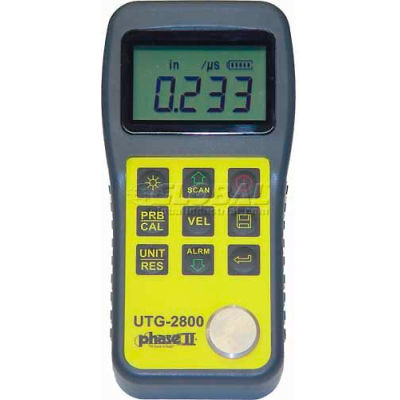 "Phase 2 UTG-2800 0.04""-12"" Ultrasonic Thickness Gage"