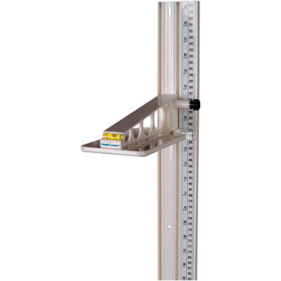 """Health o Meter® PORTROD Universal Wall Mounted Height Rod, 24 - 83"""""""